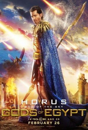 Gods of Egypt 3D Film Poster