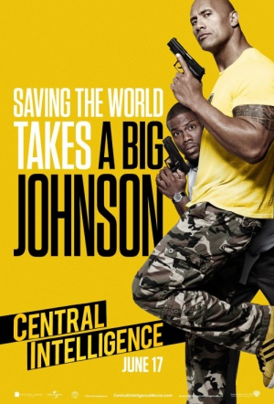 Central Intelligence Film Poster