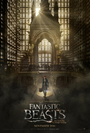 Fantastic Beasts and Where to Find Them 3D Film Poster