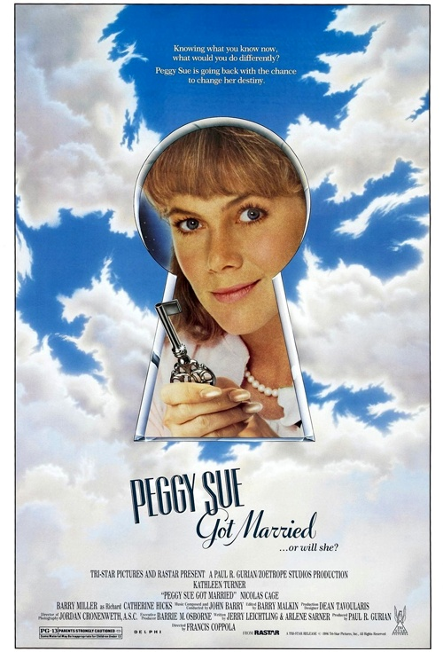 Peggy Sue Got Married Film Poster