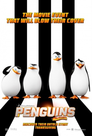 The Penguins of Madagascar Film Poster