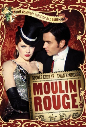Moulin Rouge! Film Poster