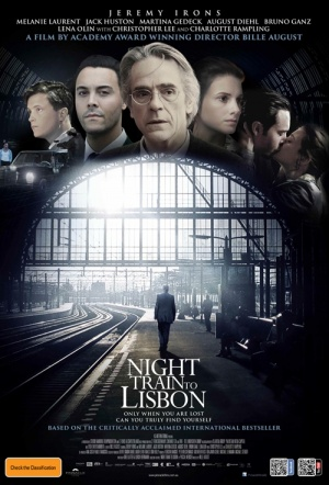 Night Train to Lisbon Film Poster