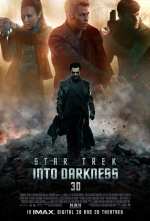 Star Trek Into Darkness 3D Film Poster