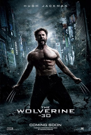 The Wolverine 3D Film Poster