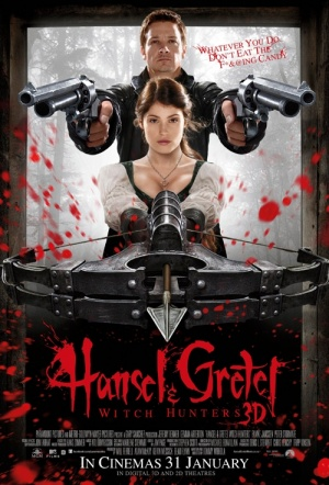 Hansel And Gretel: Witch Hunters 3D Film Poster