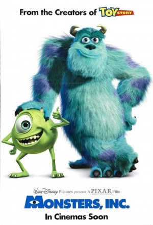 Monsters, Inc. Film Poster