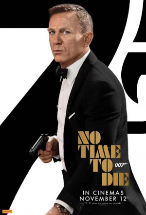 No Time to Die Film Poster