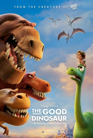 The Good Dinosaur 3D Film Poster