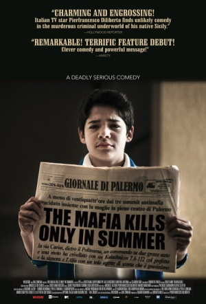 The Mafia Kills Only in Summer Film Poster