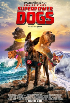 Superpower Dogs Film Poster