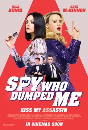 The Spy Who Dumped Me Film Poster