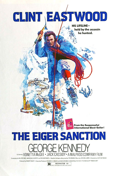 The Eiger Sanction Film Poster