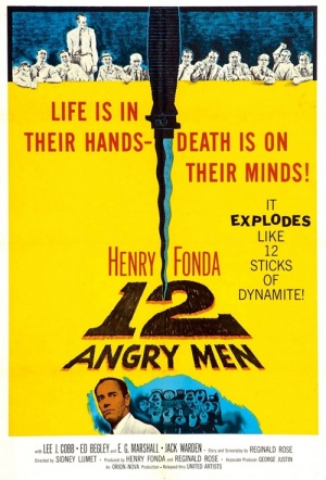 12 Angry Men Film Poster
