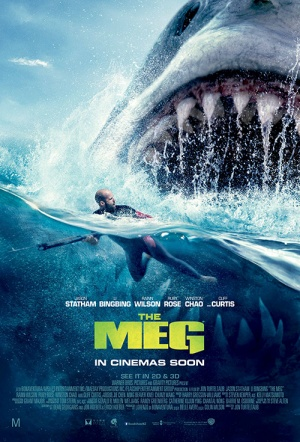 The Meg 3D Film Poster