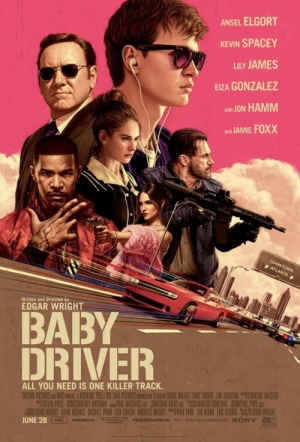 Baby Driver Film Poster