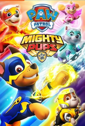 Paw Patrol: Mighty Pups - The Movie Film Poster