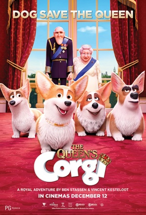 The Queen's Corgi Film Poster