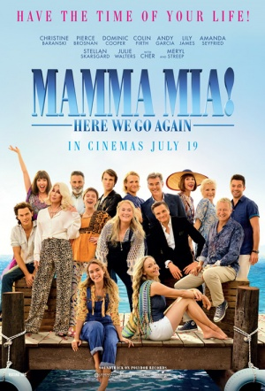 Mamma Mia: Here We Go Again - Ladies Night Screening Film Poster