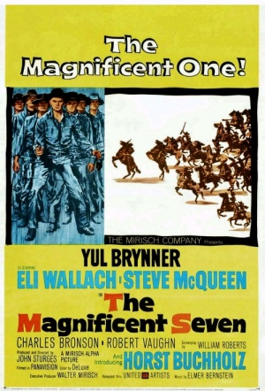 The Magnificent Seven (1960) Film Poster