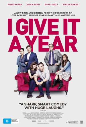 I Give It a Year Film Poster