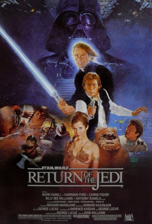 Star Wars: Episode VI - Return of the Jedi Film Poster
