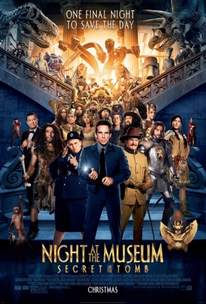 Night at the Museum: Secret of the Tomb Film Poster