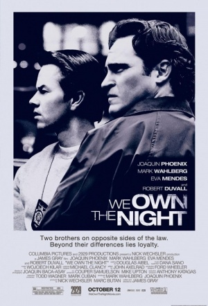 We Own The Night Film Poster