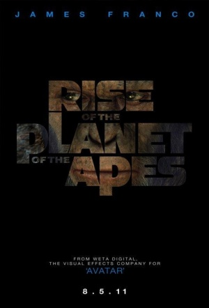 Rise of the Planet of the Apes Film Poster