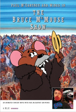 Paul McCartney and Wings in the Bruce McMouse Show Film Poster
