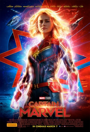 Captain Marvel Film Poster