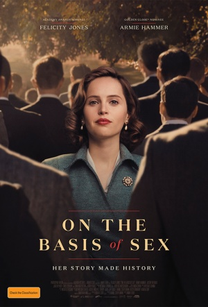 On the Basis of Sex Film Poster