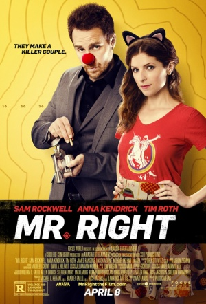 Mr. Right (2016) Film Poster
