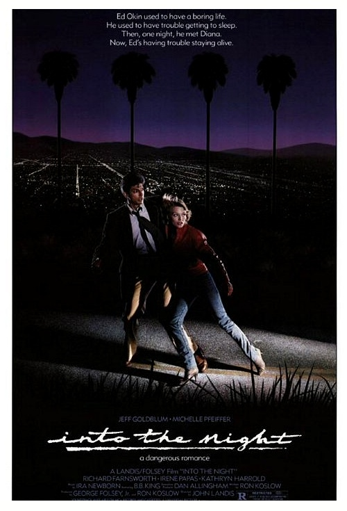 Into the Night (1985) Film Poster