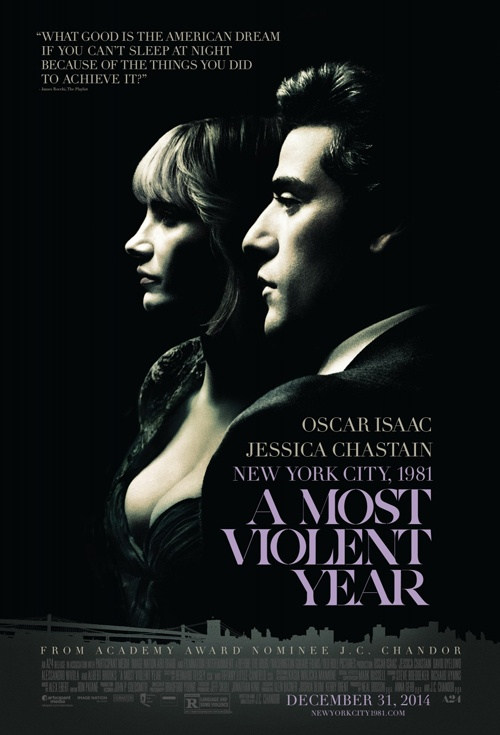A Most Violent Year Film Poster