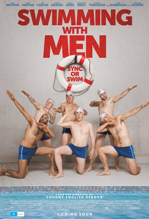 Swimming with Men Film Poster