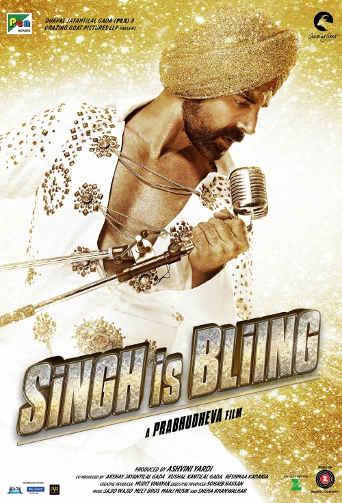 Singh is Bling