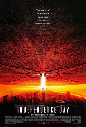 Independence Day 3D Film Poster