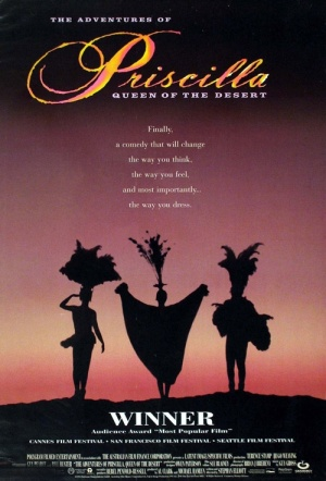 The Adventures of Priscilla, Queen of the Desert Film Poster