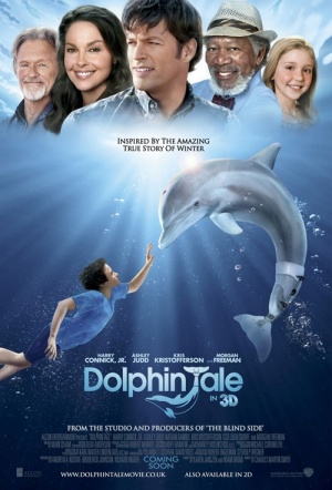 Dolphin Tale 3D Film Poster