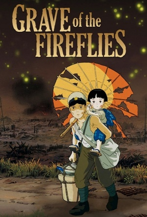 Grave of the Fireflies Film Poster