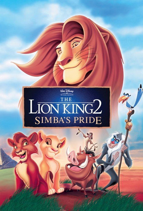 Poster For The Lion King 2 Simba S Pride Flicks Co Nz