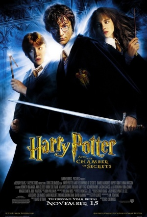 Harry Potter and the Chamber of Secrets Film Poster
