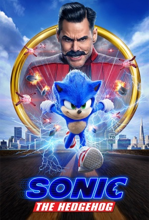 Sonic the Hedgehog (2019) Film Poster