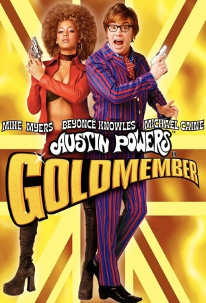 Austin Powers in Goldmember Film Poster