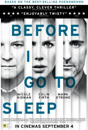 Before I Go To Sleep Film Poster
