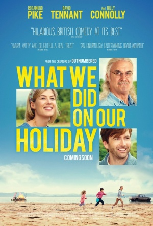 What We Did on Our Holiday Film Poster