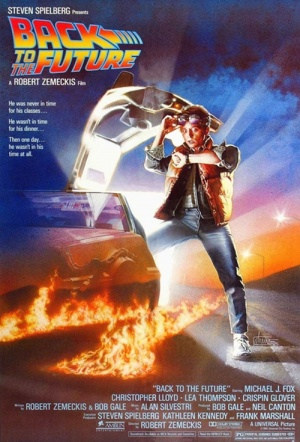 Back to the Future Film Poster