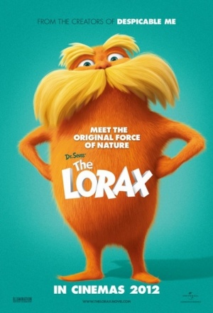 The Lorax 3D Film Poster