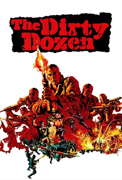 The Dirty Dozen Film Poster